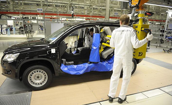 Запуск производства полного цикла на заводе Volkswagen Group Rus