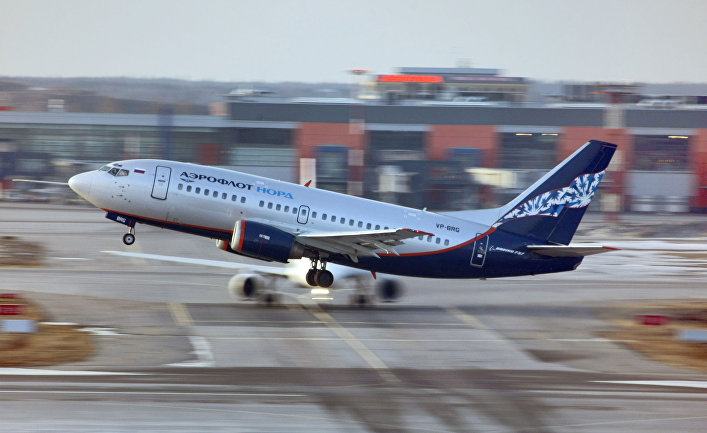"Самолет Boeing-737 авиакомпании ""Аэрофлот-Норд"""