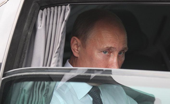 Визит Владимира Путина в Париж