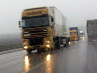 грузовик, дорога