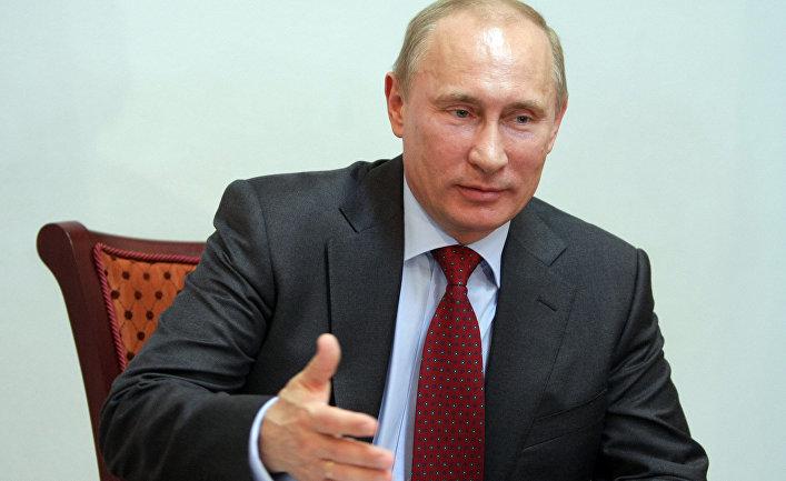 Рабочая поездка Владимира Путина в Псков
