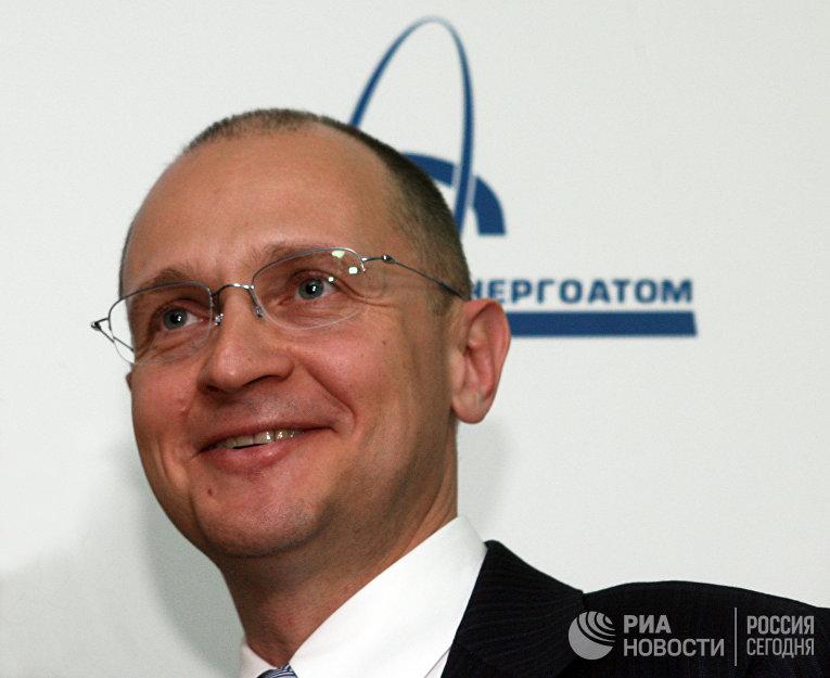 """Генеральный директор госкорпорации """"Росатом"""" Сергей Кириенко"""
