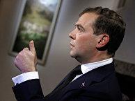 Д.Медведев на Всемирном экономическом форуме в Давосе