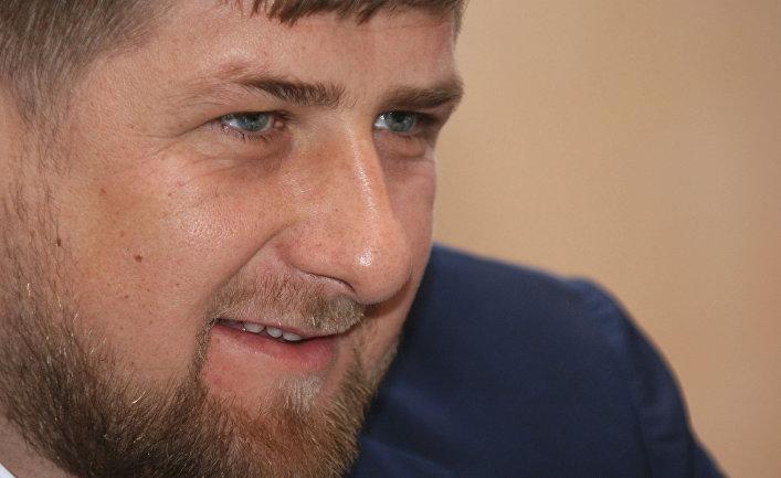 Президент Чеченской Республики Рамзан Кадыров