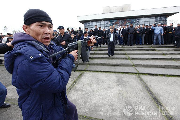 Столкновения в киргизском городе Ош