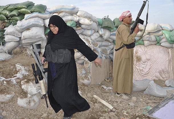 Добровольцы участвуют в столкновениях с организацией «Исламское государство Ирака и Шама»