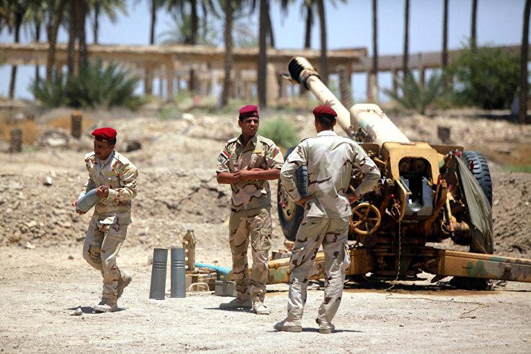 Столкновения иракских войск с организацией «Исламское государство Ирак и Шама» в районе Джурф аль-Сахар