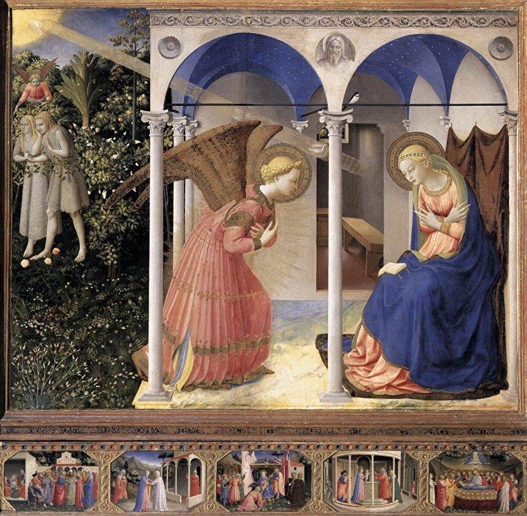 Фра Анжелико «Благовещение» (1430-1432)