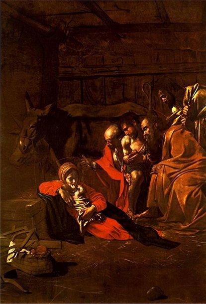 Караваджо «Поклонение пастухов» (1609)