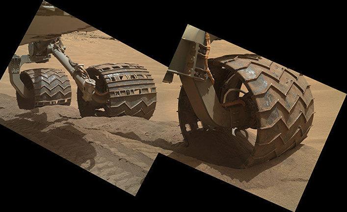 Марсоход в песах Хиден-Вэли