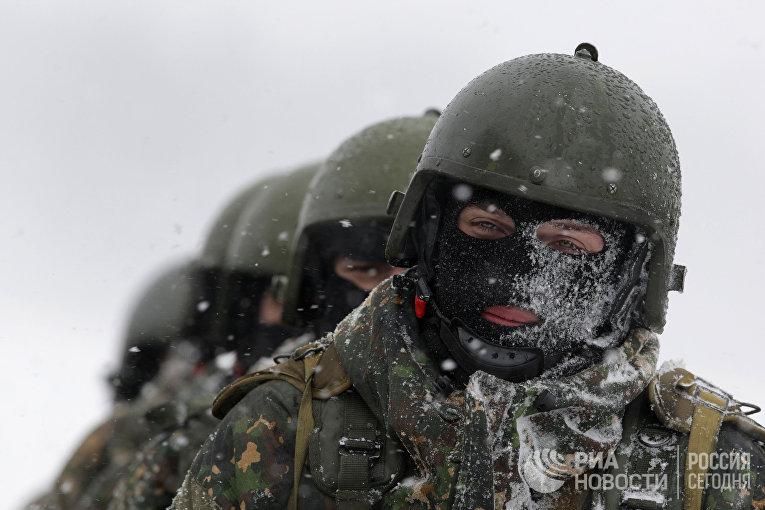Учения антитеррористических подразделений МВД ВВ России