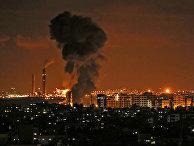 Воздушные удары по сектору Газа. 12 ноября 2018