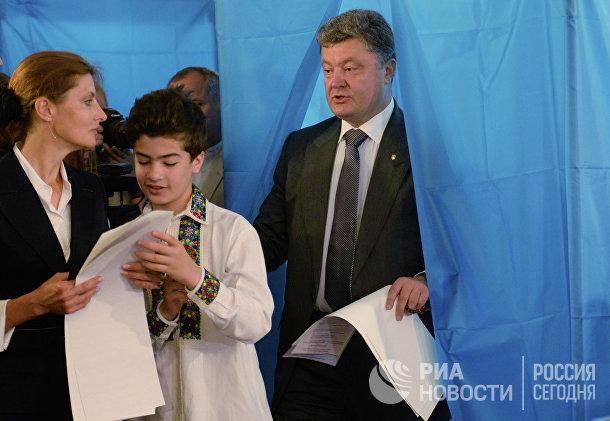 Голосование кандидатов в президенты Украины