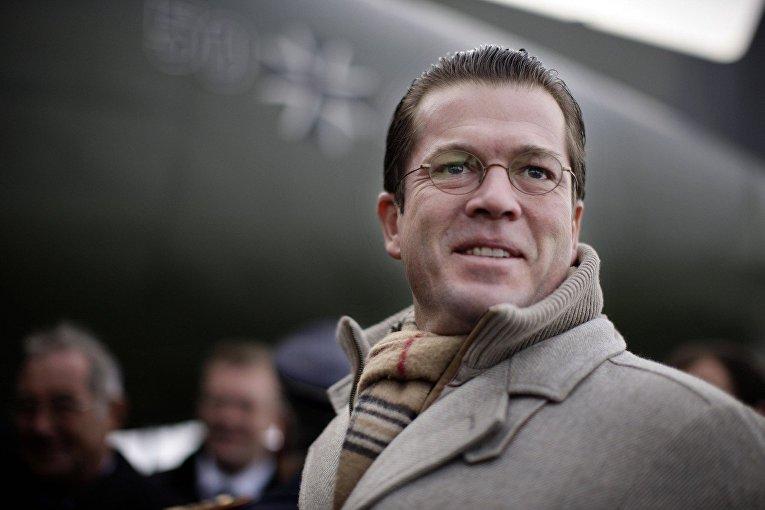 Бывший министр обороны Германии Карл-Теодор цу Гуттенберг