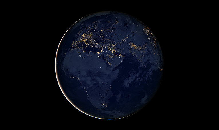Космический снимок Земли