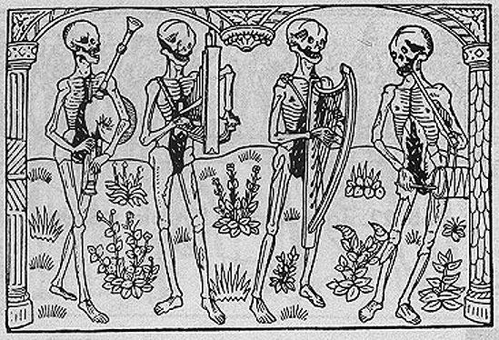 Смерть в искусстве Средневековья: Danse Macabre
