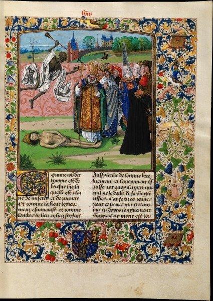 Смерть в искусстве Средневековья