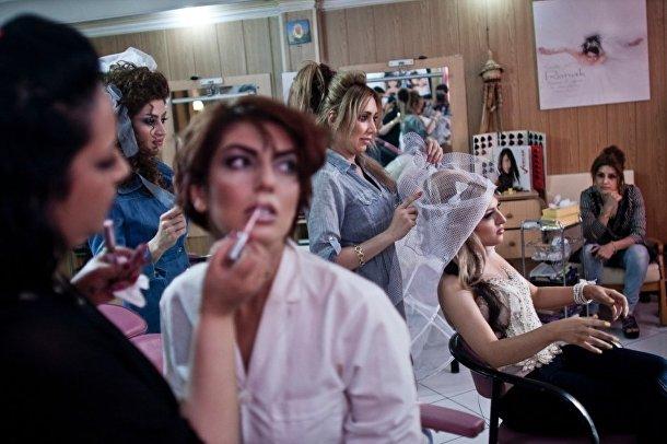 Салон красоты в Тегеране