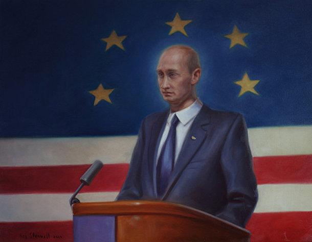 Кай Стенвалл «Путин где-то на Западе в феврале 2015-го»