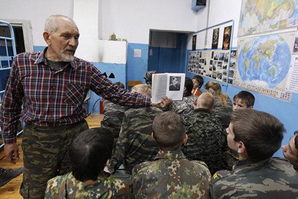 Урок военной истории в кадетской школе имени генерала Ермолова