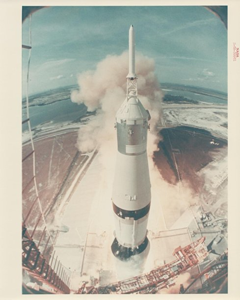 Старт корабля «Аполлон-11»