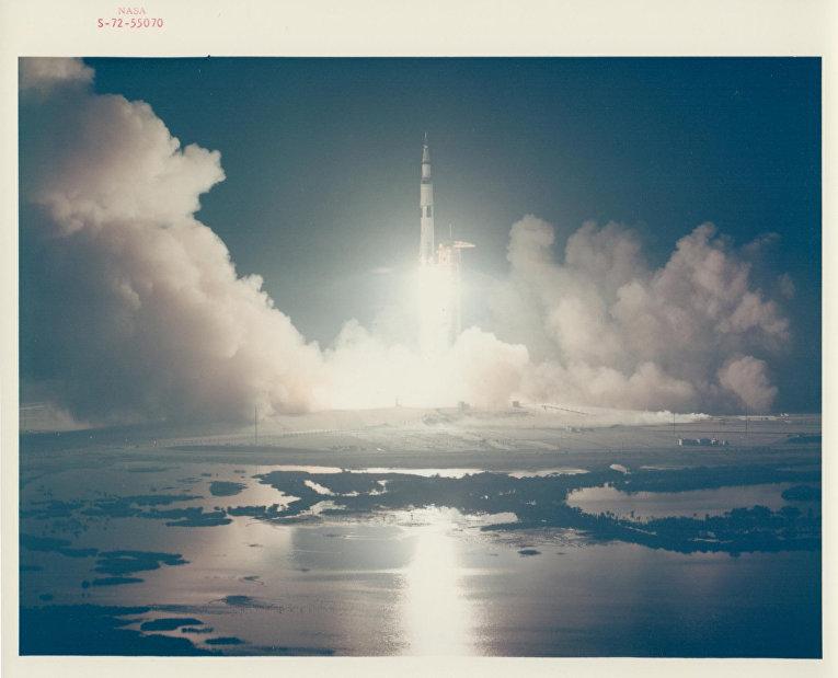 Старт космического корабля «Аполлон-17»