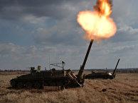 Артиллерийские учения в Приморском крае