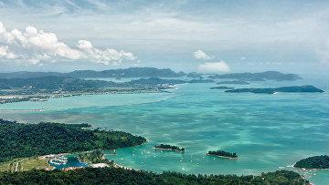 Вид с вершины Лангкави, Малайзия