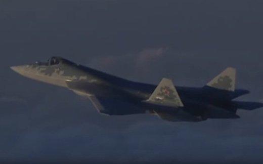 Что делали Су-57 в Сирии