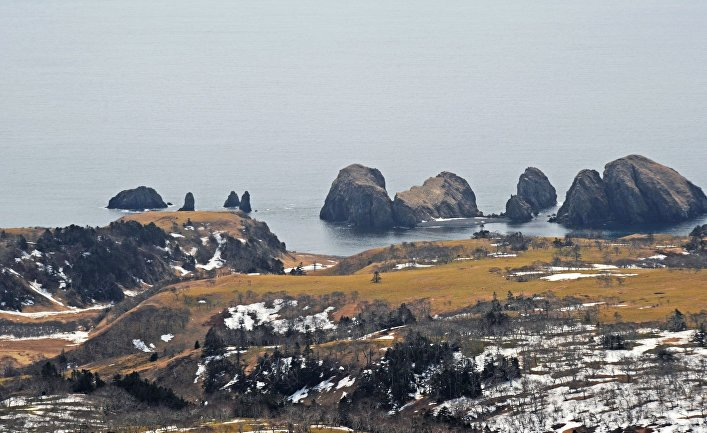 Остров Шикотан Сахалинской области