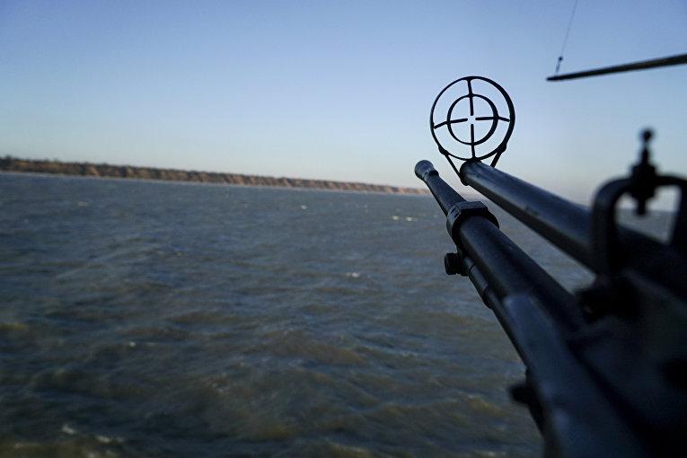 Патрулирование побережья Азовского моря