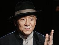 Актер Джеки Чан в Москве
