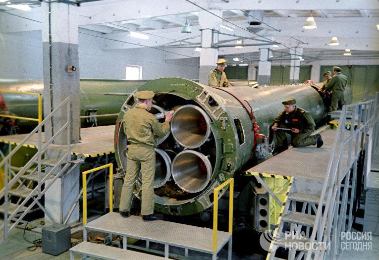 Ликвидация ракетных средств Р-12