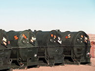 Контейнеры для ракет Pershing II, 1989 год