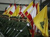 Бойцы «Хезболлы» на параде