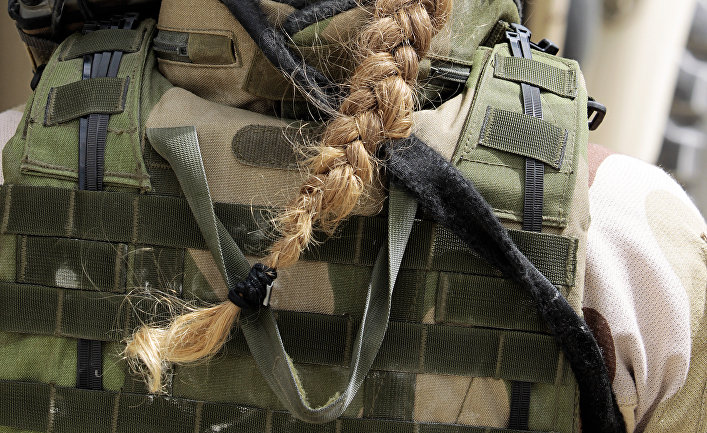 Женщина в норвежской армии