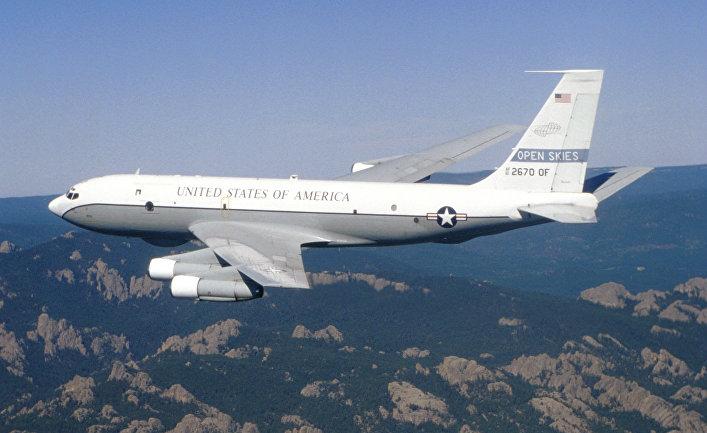 Американский Боинг KC-135 Open Skies