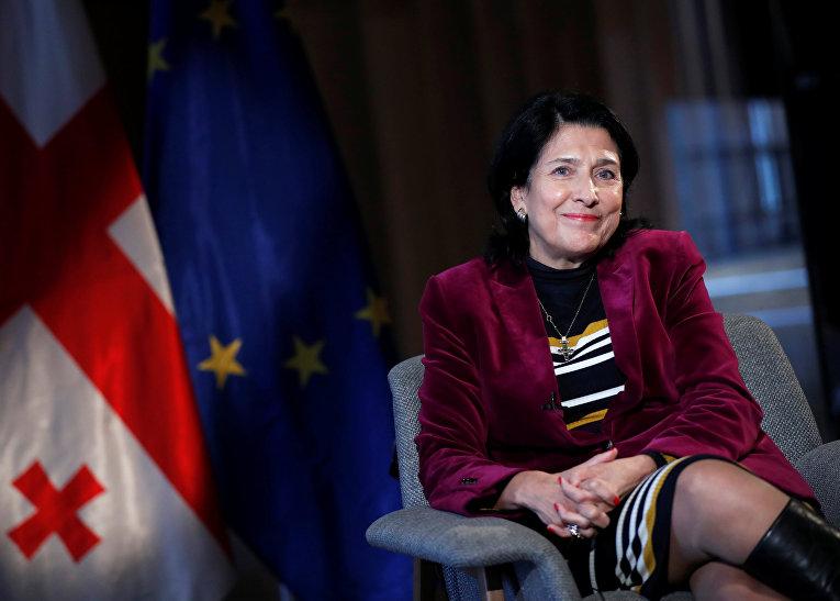 Избранный президент Грузии Саломея Зурабишвили