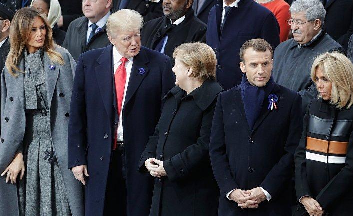 Мероприятия в Париже в честь 100-летия окончания I мировой войны