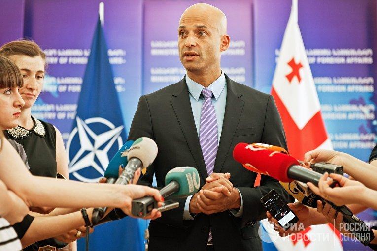Визит спецпредставителя НАТО Джеймса Аппатурайа в Грузию