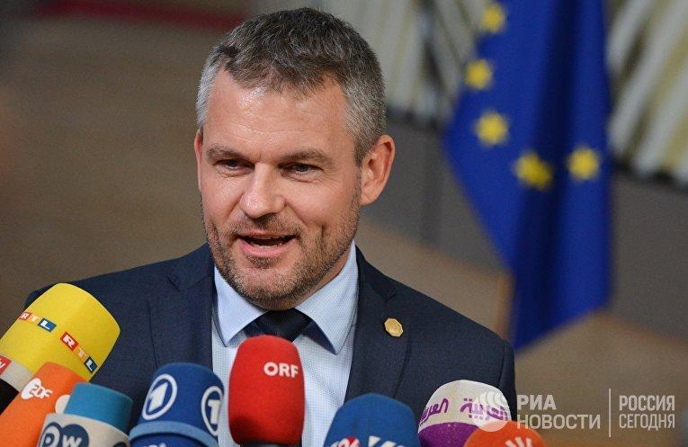 Премьер-министр Словакии Петер Пеллегрини