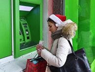 Работа банкомата в Киеве