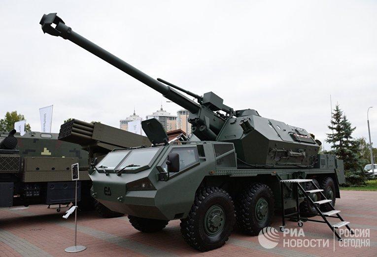 "Самоходная артиллерийская гаубица ""Дана"""