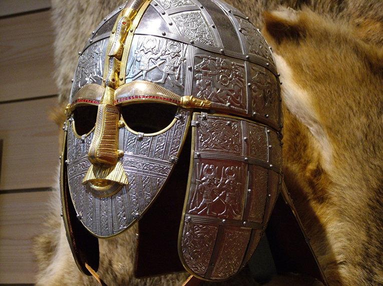 Копия шлема англосаксов