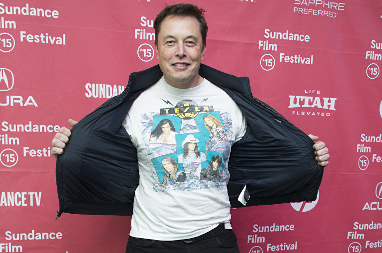 Генеральный директор SpaceX и Tesla Илон Маск