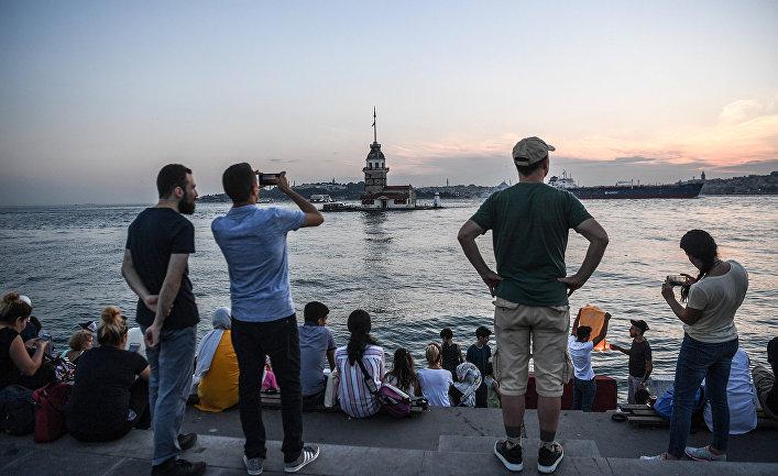 Набережная в Стамбуле