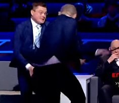 Бои без правил на украинском ток-шоу