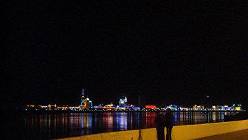 Граница России и Китая Амур Благовещенск Хэйхэ