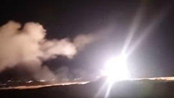 Cирийская ПВО против израильских ракет