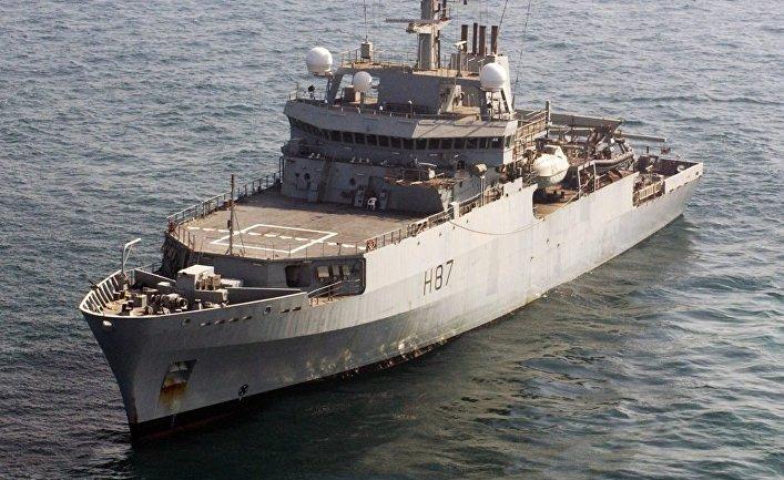 Гидрографическое судно британских ВМС «Эхо»